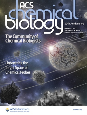 El estudio ha sido portada en la prestigiosa revista ACS Chemical Biology