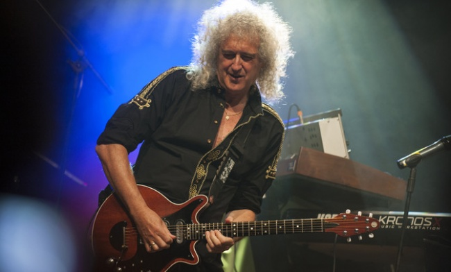 Brian May, astrofísico y guitarrista de Queen