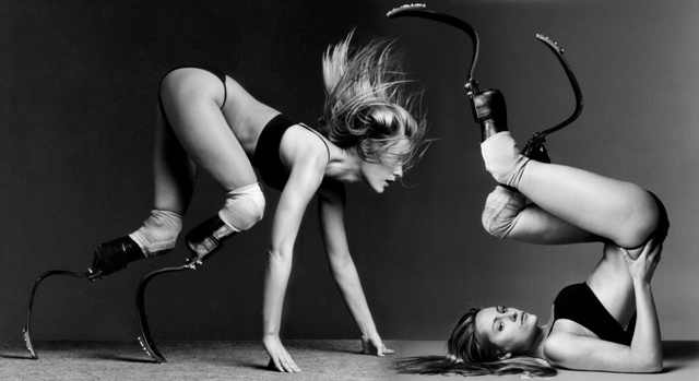 Howard Schatz. Retratos de Aimee Mullins, 2007.