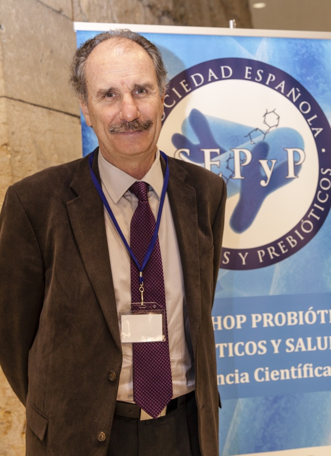 Francisco Guarner, gastroenterólogo del Hospital Valle de Hebrón