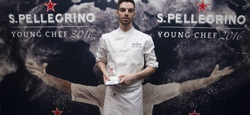 David Andrés gana la final española para S. Pellegrino Young Chef