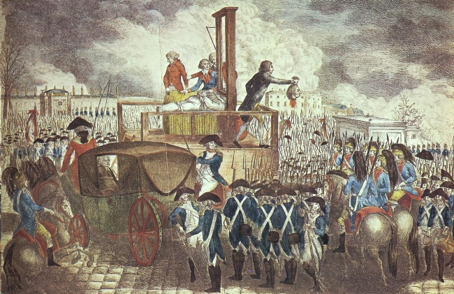 Image result for ROBESPIERRE EJECUCION