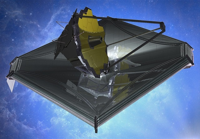 James Webb Space Telescope (JWST / Créditos: Northrop Grumman